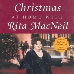 New Book Christmasmas at home with rita MacNeil